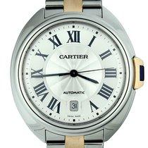 Cartier Clé de Cartier Steel 40mm Silver Roman numerals United States of America, Georgia, Atlanta