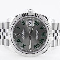 Rolex Datejust 126334 Nenošeno Zeljezo 41mm Automatika