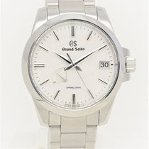 Seiko Grand Seiko Steel 39.4mm White