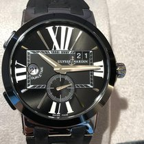 Ulysse Nardin Executive Dual Time 243-00/421 New Steel 43mm Automatic