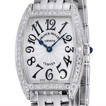 Franck Muller Cintrée Curvex White gold 35mm Silver Arabic numerals United States of America, New York, Greenvale