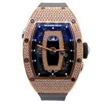 Richard Mille RM 037 Rose gold 52.63mm Black No numerals United States of America, New York, New York