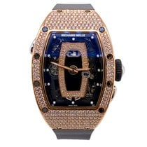 Richard Mille new Automatic 52.63mm Rose gold Sapphire crystal