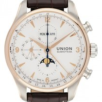 Union Glashütte Belisar Chronograph Gold/Steel 44mm White