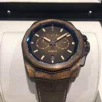 Corum Bronze Automatic Brown No numerals 45mm new Admiral's Cup AC-One