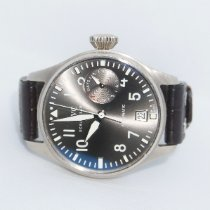 IWC Big Pilot White gold 46mm Grey Arabic numerals United States of America, Texas, McKinney