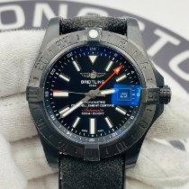 Breitling Avenger II GMT Steel 43mm Black Arabic numerals United States of America, New York, NYC