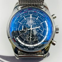 Breitling Transocean Steel 46mm Black United States of America, New York, NYC