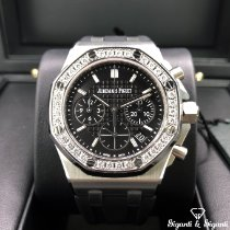 Audemars Piguet Royal Oak Offshore Lady Steel 37mm Black No numerals United States of America, Illinois, Springfield