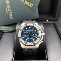 Audemars Piguet Royal Oak Offshore Lady Steel 37mm Blue No numerals United States of America, Illinois, Springfield