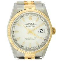 Rolex 16233 Золото/Cталь 1995 Datejust 36mm подержанные