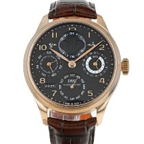 IWC Portuguese Perpetual Calendar Rose gold 44mm Black Arabic numerals United States of America, Maryland, Baltimore, MD