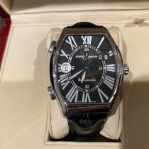 Ulysse Nardin Steel Automatic Black 35mm pre-owned Michelangelo