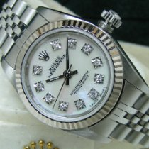 Rolex Oyster Perpetual pre-owned White Steel