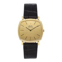 Piaget Yellow gold Automatic Gold No numerals 32.4mm pre-owned Emperador