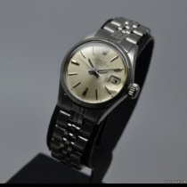 Rolex Oyster Perpetual Lady Date usato Argento Data Acciaio