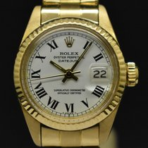 Rolex Lady-Datejust Oro amarillo 26mm Blanco Sin cifras España, Barcelona