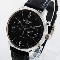 Glashütte Original Sixties Chronograph Steel 42mm Black