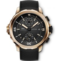 IWC Aquatimer Chronograph Bronze 44mm Black No numerals