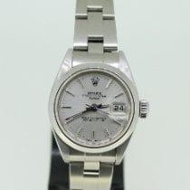 Rolex Oyster Perpetual Lady Date 79160 Sehr gut Stahl 26mm Automatik