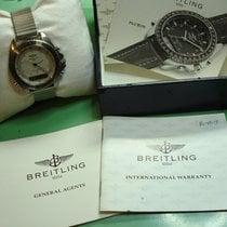 Breitling Pluton Сталь 41mm Белый