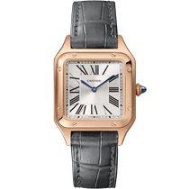 Cartier Santos Dumont new 2021 Quartz Watch with original box and original papers WGSA0022