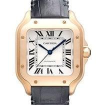 Cartier Santos (submodel) WGSA0028 Неношеные Pозовое золото 35,1mm Автоподзавод
