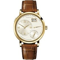A. Lange & Söhne Yellow gold Manual winding Champagne 40.9mm new Grand Lange 1