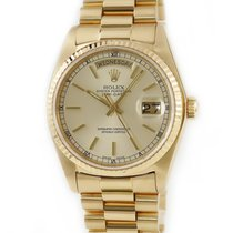 Rolex 18038 Yellow gold Day-Date 36 pre-owned