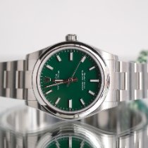 Rolex Oyster Perpetual 31 Steel 31mm Green No numerals United Kingdom, Newcastle Upon Tyne