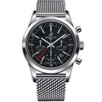 Breitling Transocean Chronograph GMT новые 2021 Хронограф Часы с оригинальными документами и коробкой AB045112/BC67