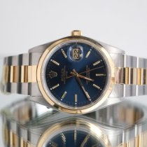 Rolex Oyster Perpetual Date Gold/Steel 34mm Blue United Kingdom, Newcastle Upon Tyne