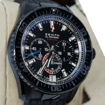 Zenith El Primero 96.2062.405/27.C707 Very good Palladium 45.5mm Automatic
