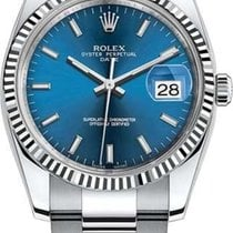 Rolex Oyster Perpetual Date new Automatic Watch with original box and original papers 115234-0004