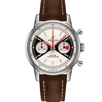 Breitling Top Time Steel 41mm Silver No numerals