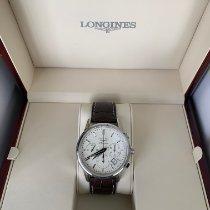 Longines Column-Wheel Chronograph Stahl 40mm Silber Schweiz, Basel