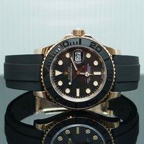Rolex Yacht-Master 40 Pозовое золото 40mm Черный Без цифр