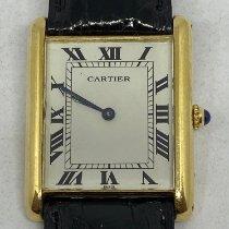 Cartier Tank Louis Cartier Oro giallo 28mm Bianco Italia, Roma
