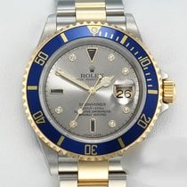 Rolex Submariner Date Gold/Steel 40mm Grey