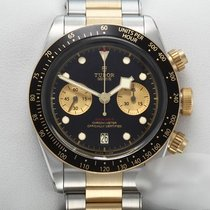 Tudor Black Bay Chrono Gold/Steel 41mm Black No numerals