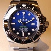 Rolex Acero Automático Azul Sin cifras 44mm nuevo Sea-Dweller Deepsea