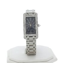 Cartier Tank Américaine White gold 23mm Silver Arabic numerals United States of America, Indiana, INDIANAPOLIS