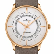 Junghans (ユンハンス) ステンレス 404mm 自動巻き Junghans Meister Worldtimer  Automatic 27/5012.02 新品