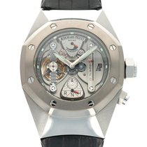 Audemars Piguet Manual winding Transparent 44mm pre-owned Royal Oak Concept