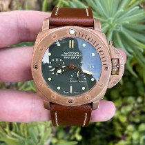 Panerai Special Editions Bronze 47mm Green No numerals United States of America, California, Los Angeles