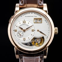 A. Lange & Söhne Lange 1 Rose gold Silver Roman numerals United States of America, Massachusetts, Boston