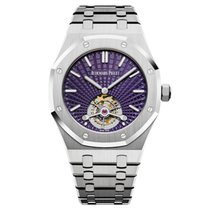 Audemars Piguet Royal Oak Tourbillon Stahl 41mm Violett