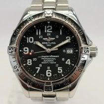 Breitling Superocean Steel 41mm Black Arabic numerals