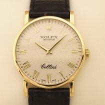 Rolex Cellini Gelbgold 32mm Silber Römisch Deutschland, MÜNCHEN