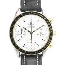 Omega Speedmaster Reduced pre-owned 38mm White Chronograph
